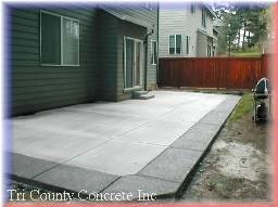 Patio Built
