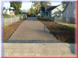 Stamped and Exposed Concrete, Click View Job Button