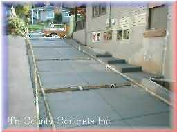 New driveway on Mt Tabor and for pavers, Click View Job Button